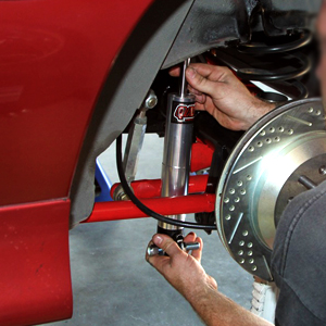 Steering and suspension repair